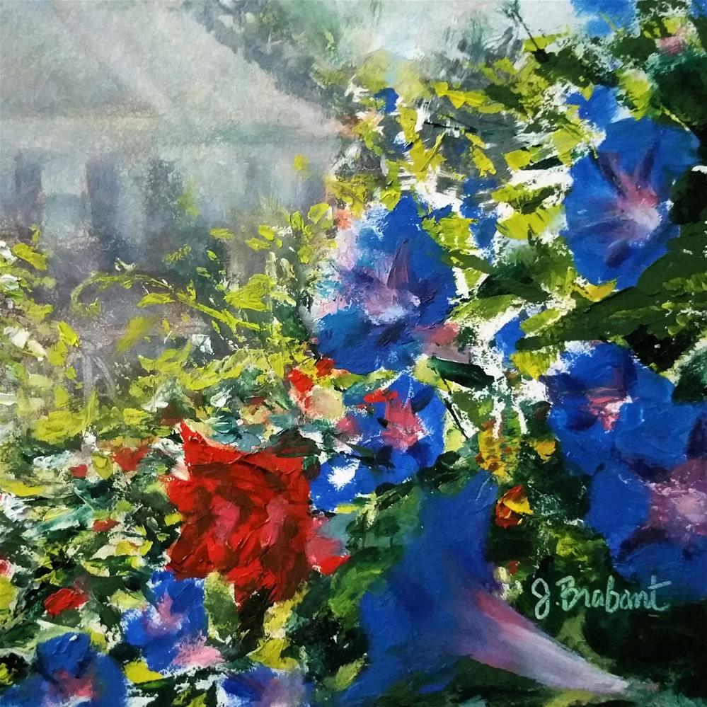 """Glorious Morn"" original fine art by Jill Brabant"