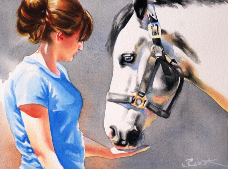 """Salvation"" original fine art by Crystal  Cook"