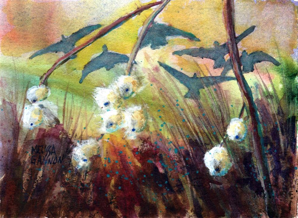 """Snowberry Welcome"" original fine art by Melissa Gannon"