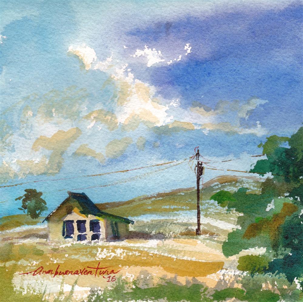 """""""Mid-West2"""" original fine art by Ann Buenaventura"""