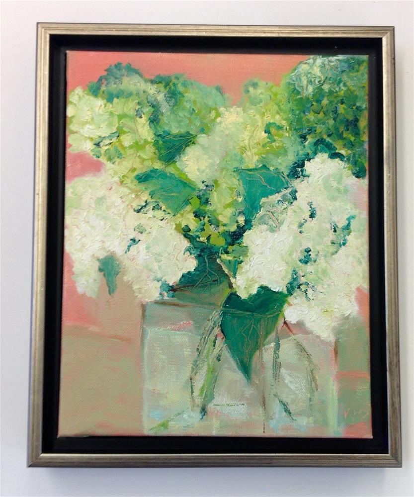 """""""Paniculatta"""" original fine art by Karen Pinard"""