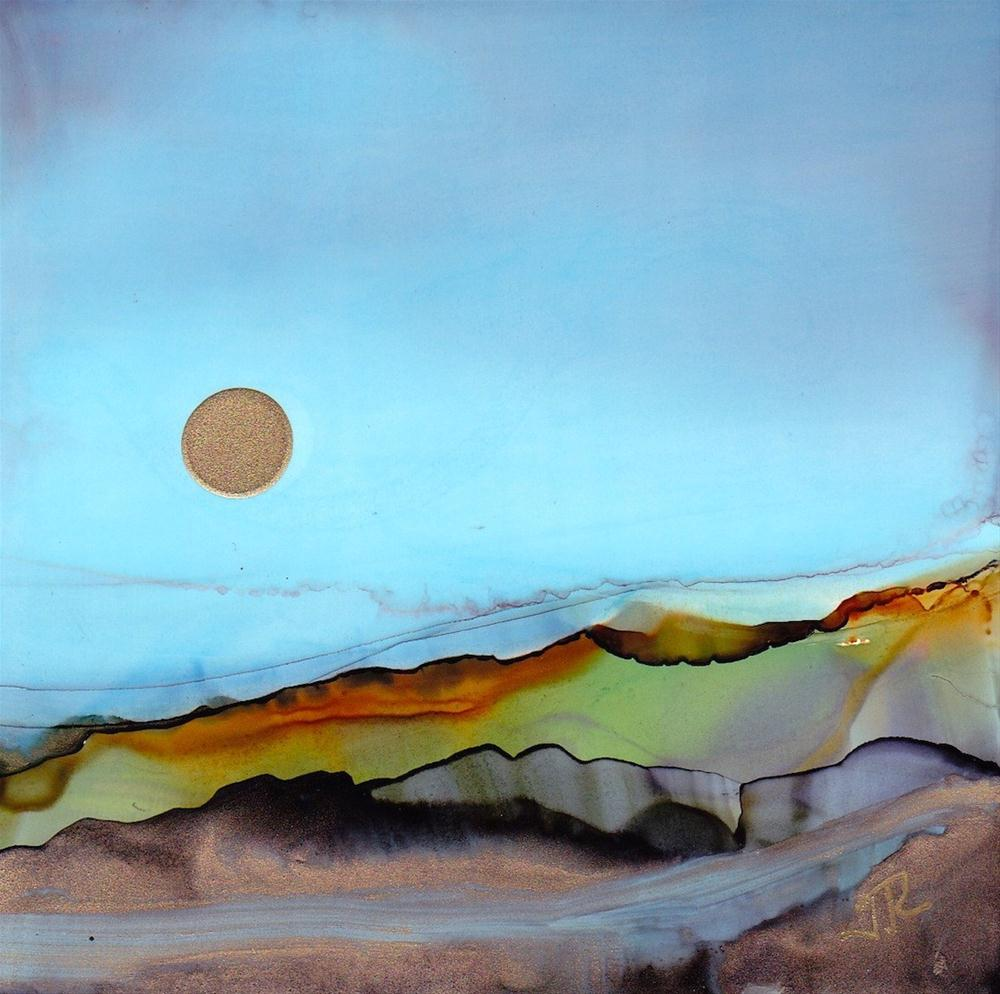 """Dreamscape No. 176"" original fine art by June Rollins"