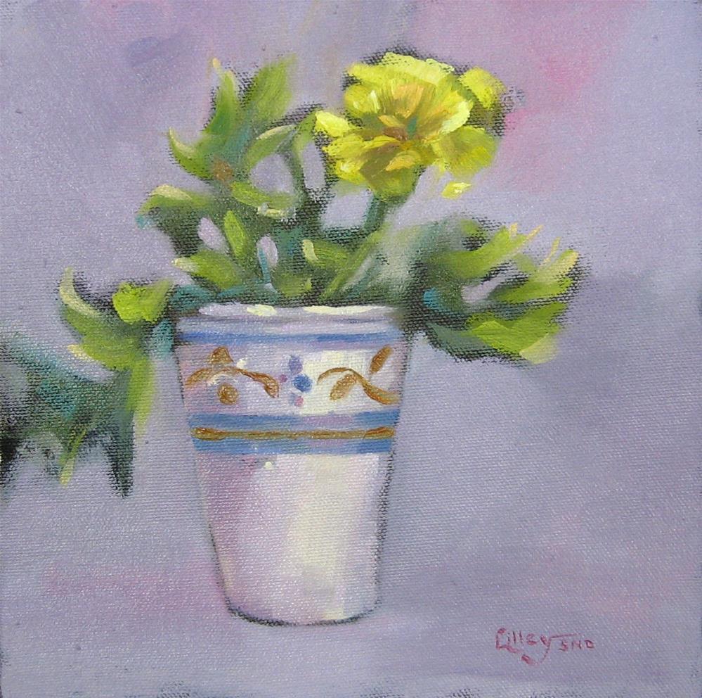 """Marigold"" original fine art by Maresa Lilley"