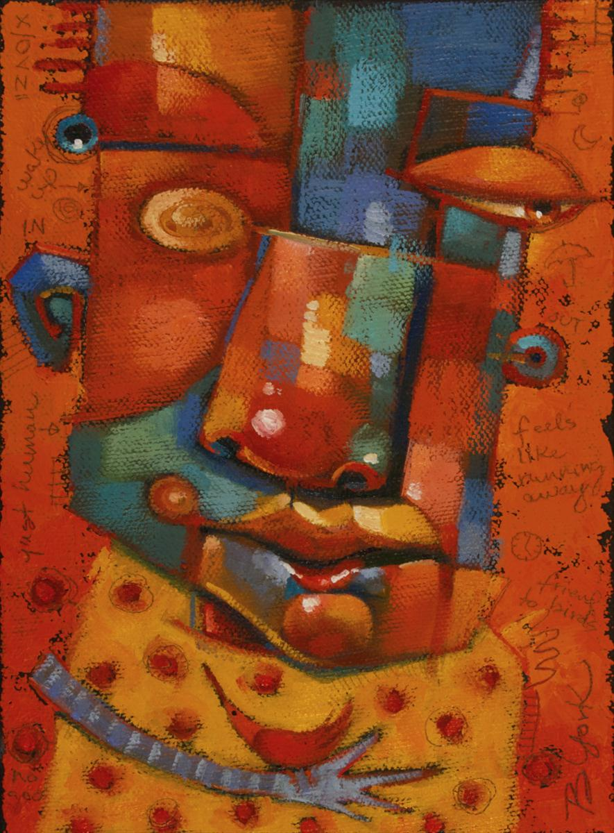 """Fair Weather Friend, Out Of The Vault"" original fine art by Brenda York"