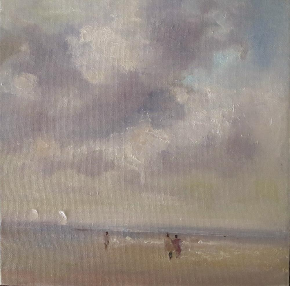 """Cloudy day"" original fine art by Astrid Buchhammer"