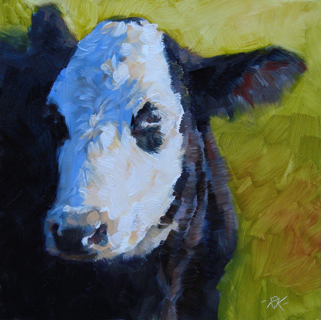 """Hugo"" original fine art by Rita Kirkman"