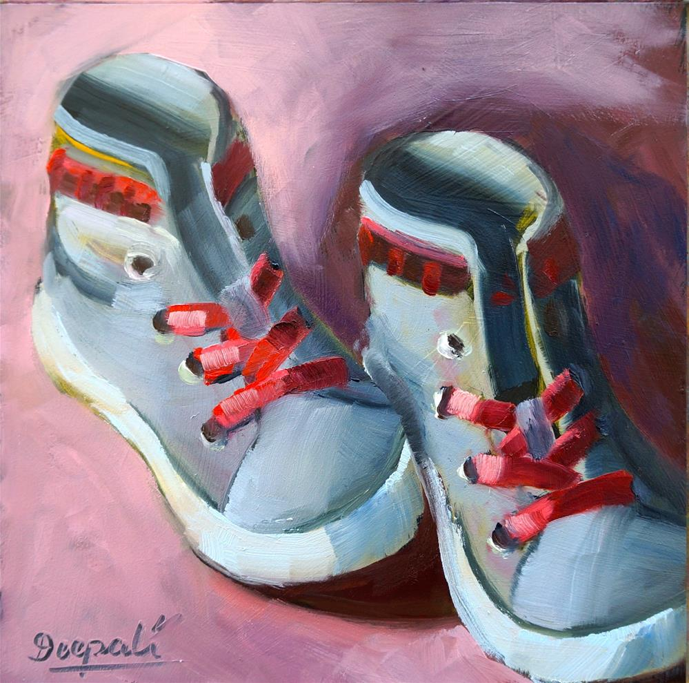 """Shoes"" original fine art by Dipali Rabadiya"