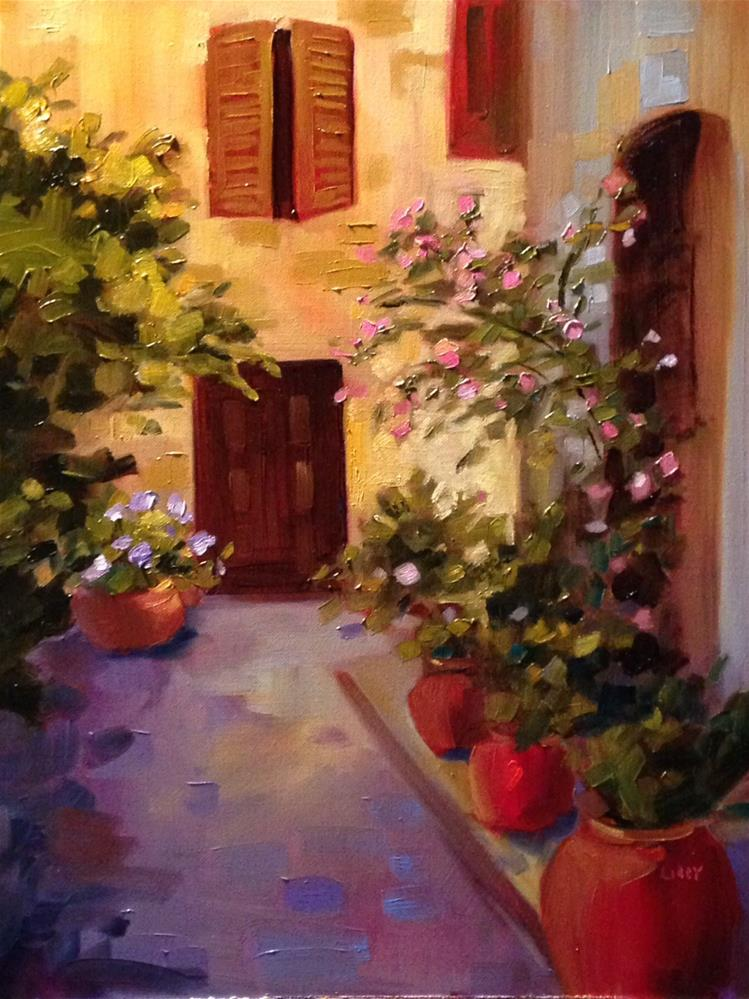 """Alley"" original fine art by Libby Anderson"