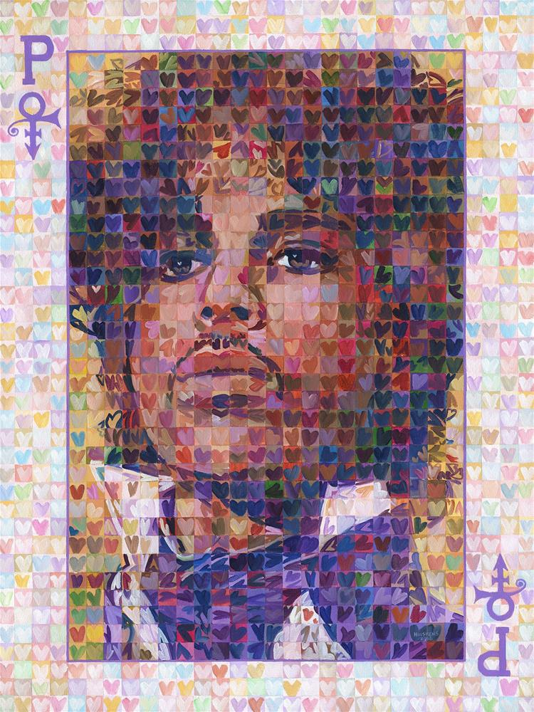 """Prince Of Hearts"" original fine art by Randal Huiskens"