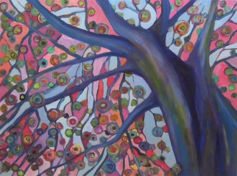 """Tree Top"" original fine art by Patricia MacDonald"