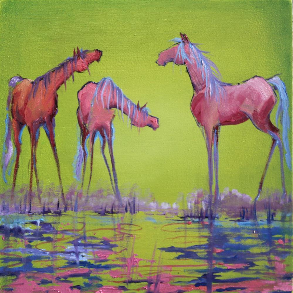 """""""Untitled"""" original fine art by Colleen Drury"""