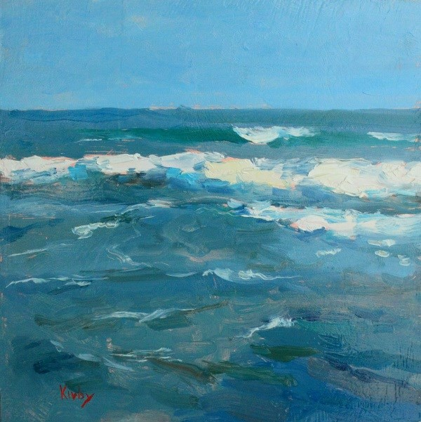 """The Moving Sea"" original fine art by Randall Cogburn"