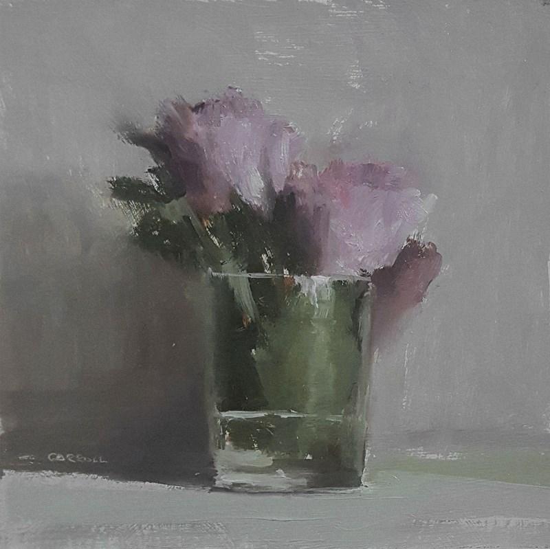 """""""Flower Glass"""" original fine art by Neil Carroll"""
