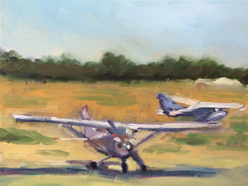 """""""About to take off"""" original fine art by Naomi Bautista"""