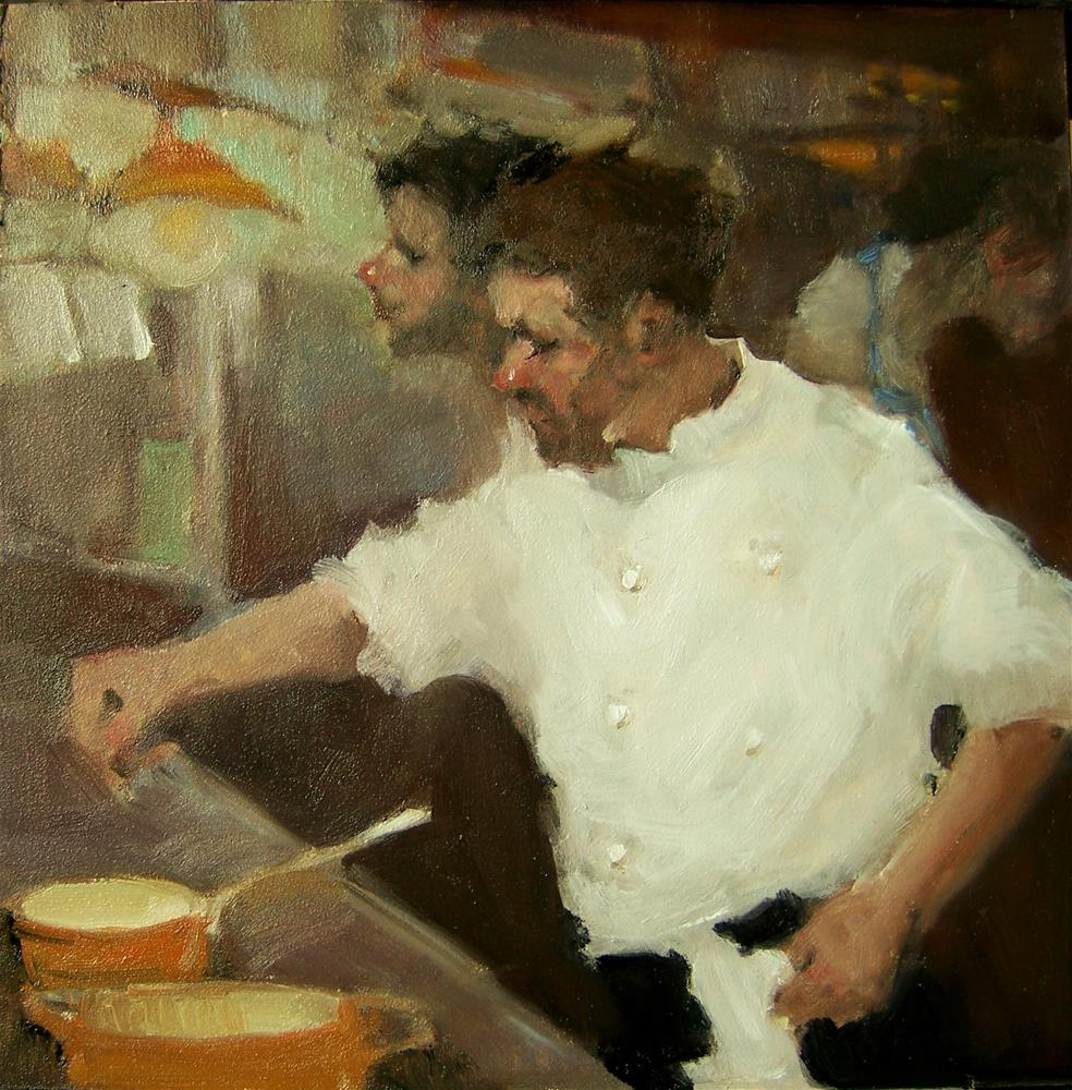 """Well Seasoned"" original fine art by Kim Roberti"
