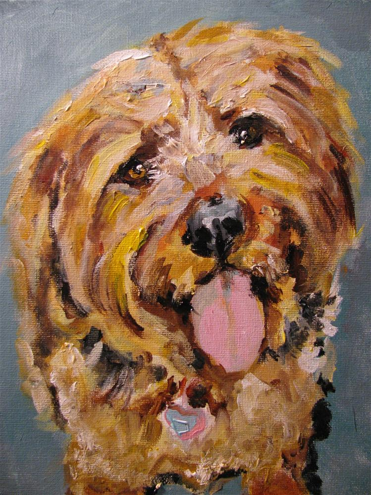"""Fred"" original fine art by Susan Elizabeth Jones"