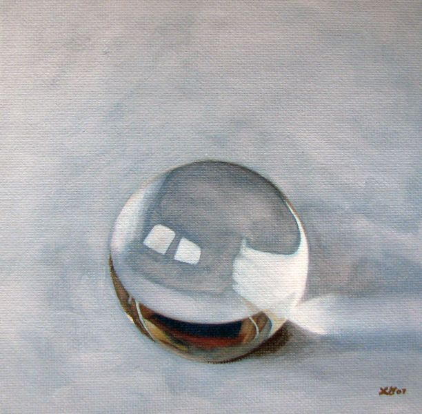 """Crystal Ball"" original fine art by Lauren Pretorius"
