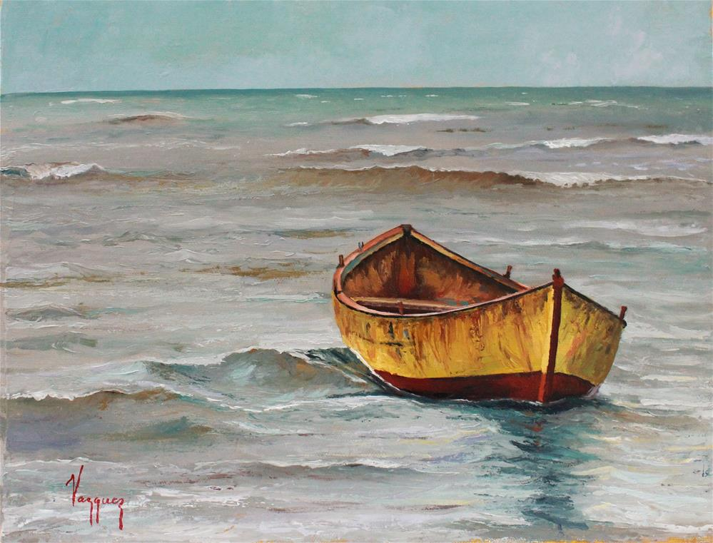"""Rhythm of the sea "" original fine art by Marco Vazquez"