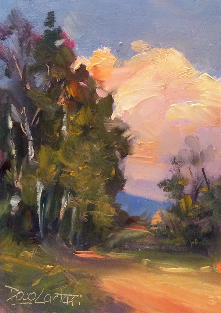 """SUMMER TRAILS"" original fine art by Doug Carter"