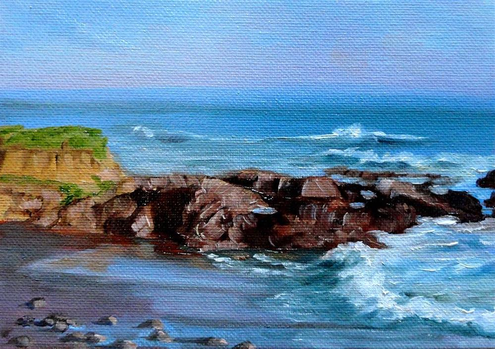 """Seal Court View"" original fine art by Cietha Wilson"
