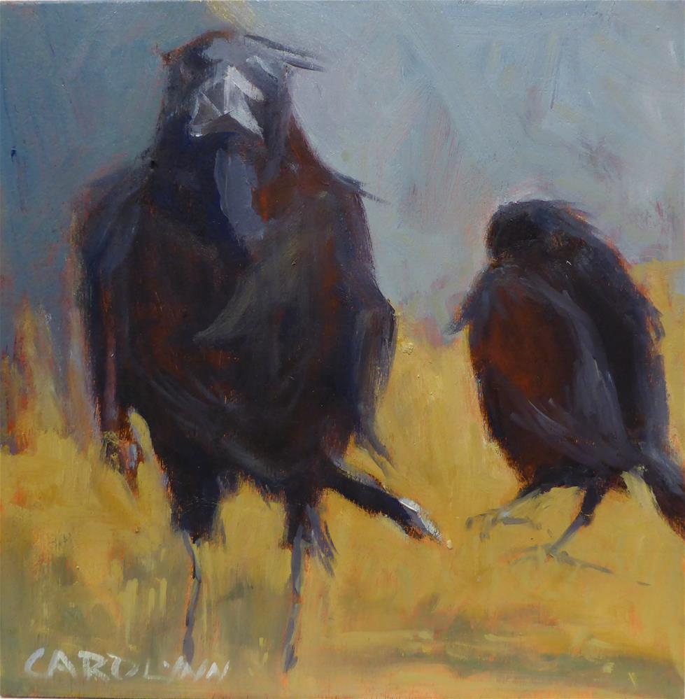"""""""Says Who?"""" original fine art by Carolynn Doan"""