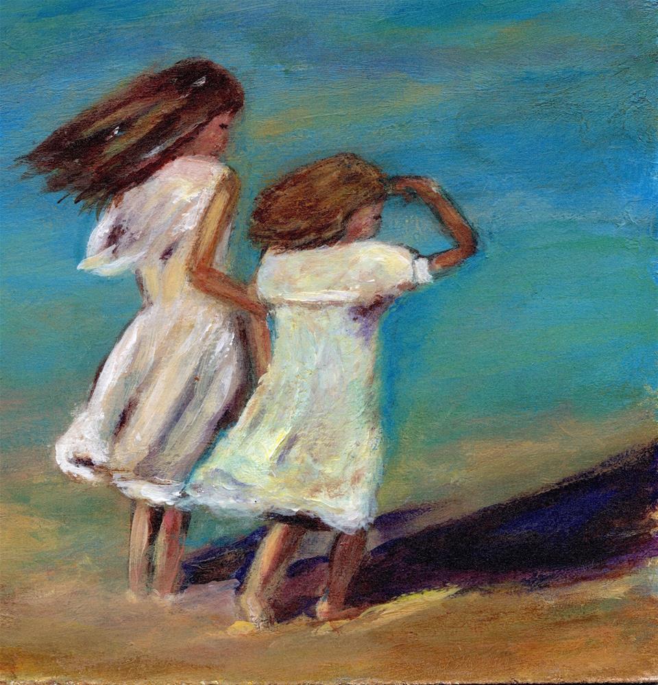 """Sissy"" original fine art by Melissa Gresham"