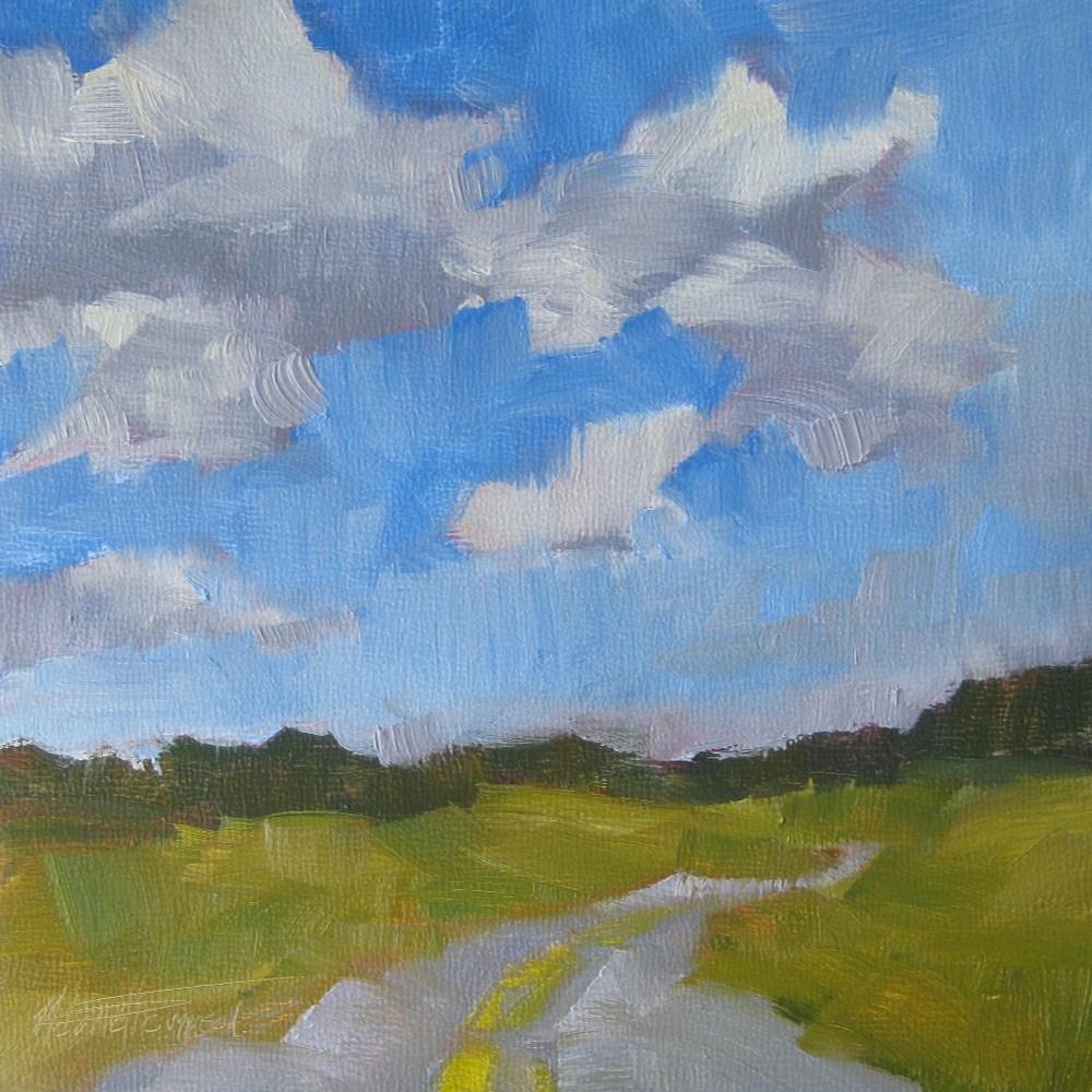 """""""Cowboy Trail II"""" original fine art by Melanie Thompson"""