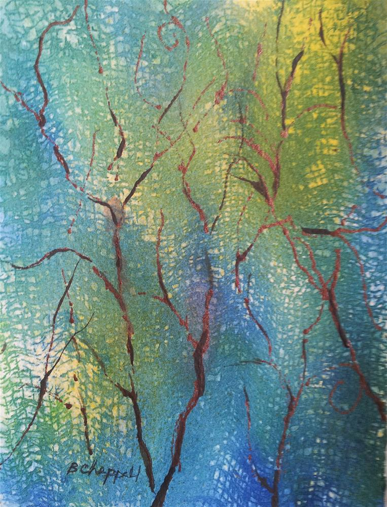"""Dancing Light"" original fine art by Becky Chappell"