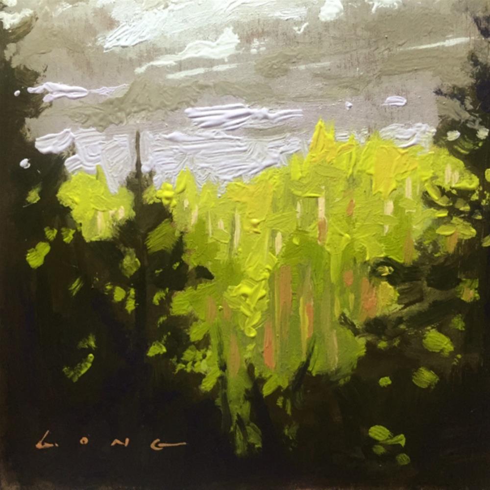 """Distant Light"" original fine art by Chris Long"