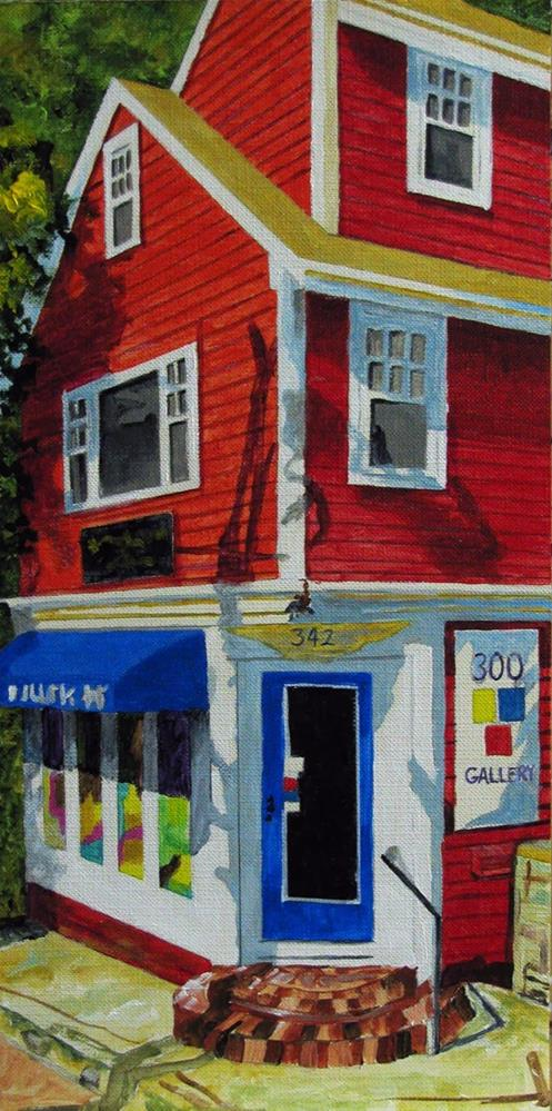 """The Art Gallery"" original fine art by Nan Johnson"