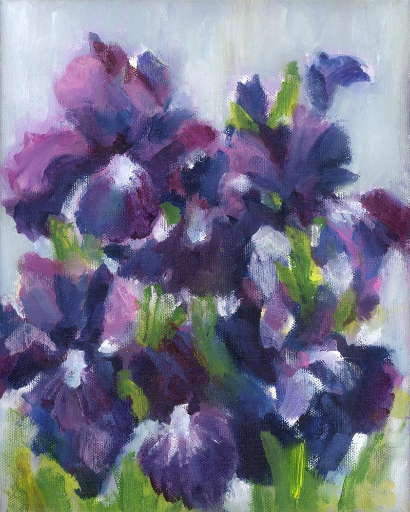 """Deep Purple"" original fine art by Pamela Gatens"