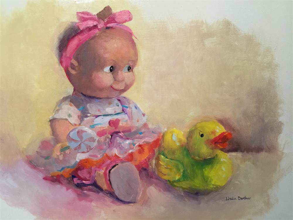 """My Heart Belongs to You"" original fine art by Linda Dunbar"