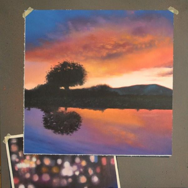 """AFTER THE RAINS"" original fine art by Gerald Schwartz"