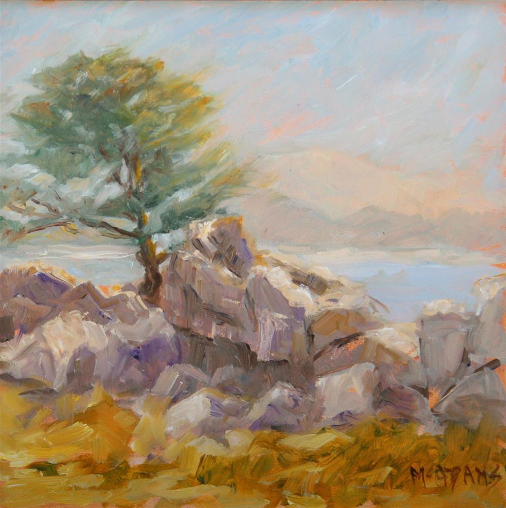 """""""In Monterey"""" original fine art by Phyllis McAdams"""