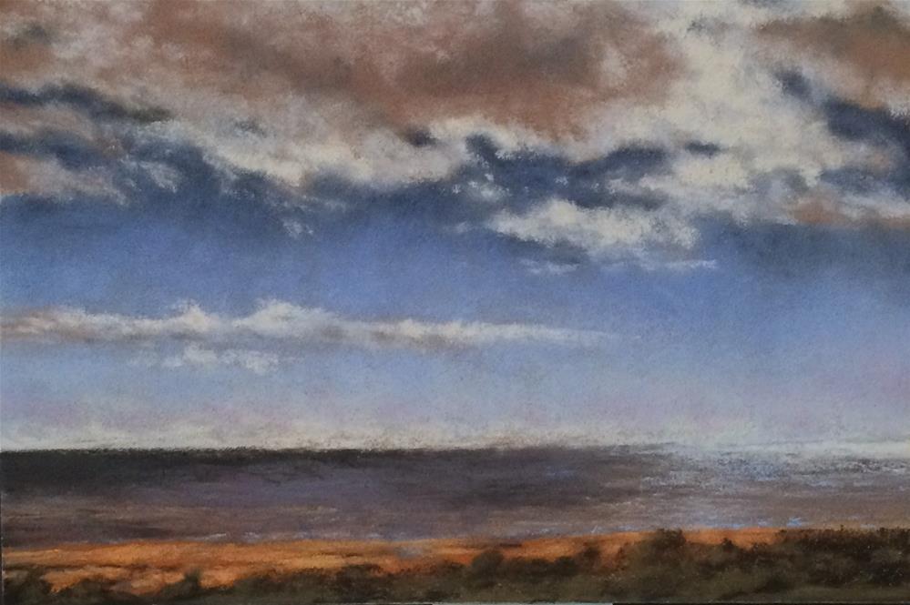 """Lake Michigan"" original fine art by Christina Karras"