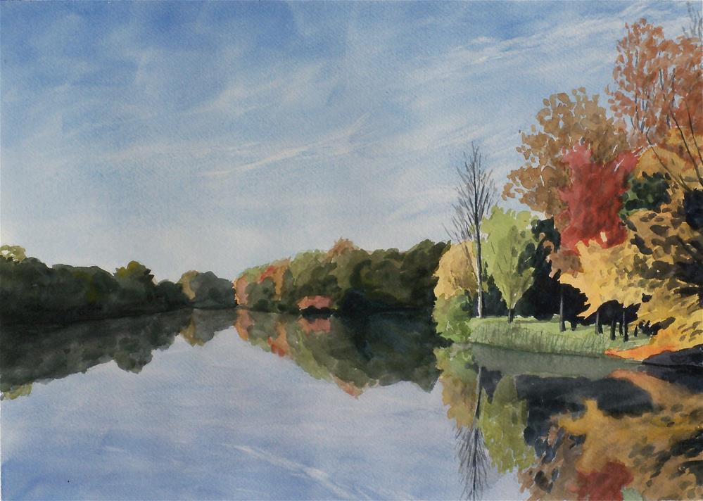 """Malvern Lake"" original fine art by Greg Arens"