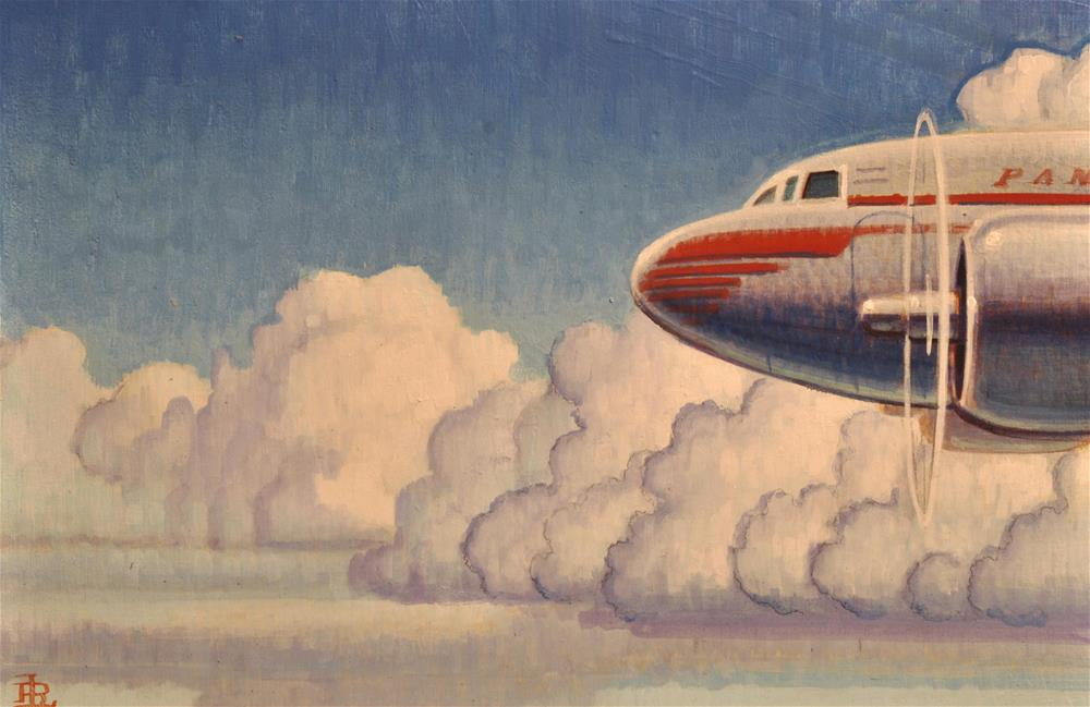 """Clipper"" original fine art by Robert LaDuke"