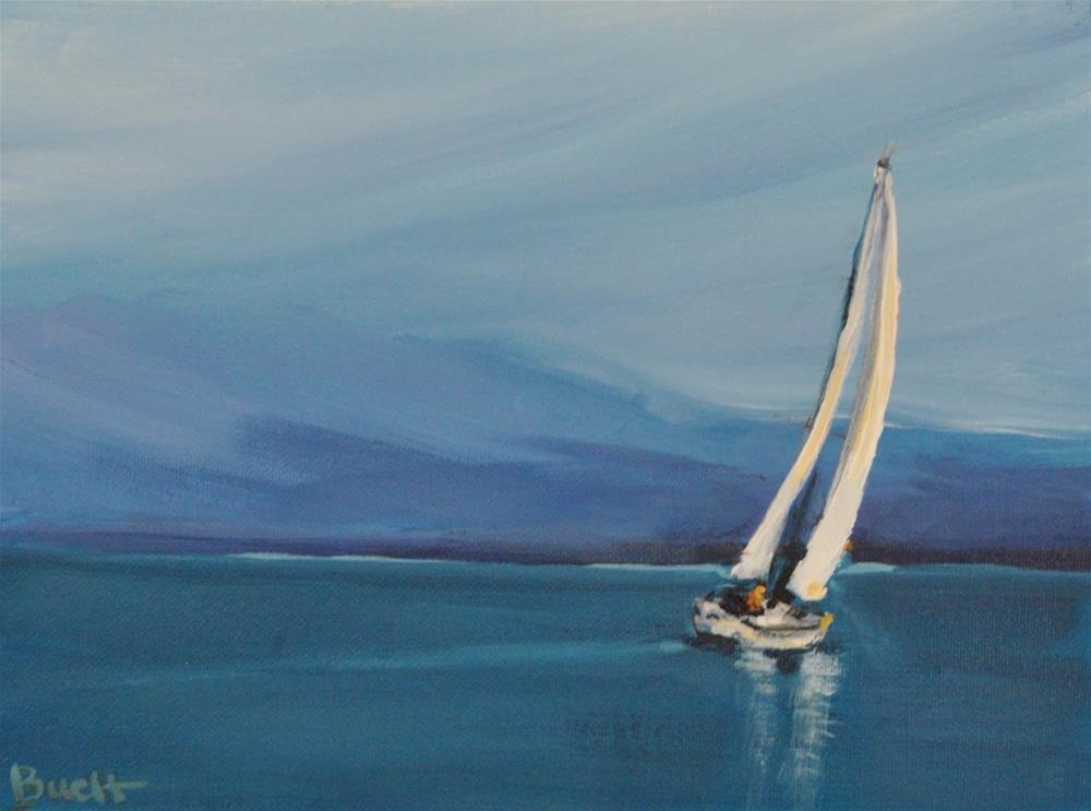 """Sail Away"" original fine art by Shari Buelt"