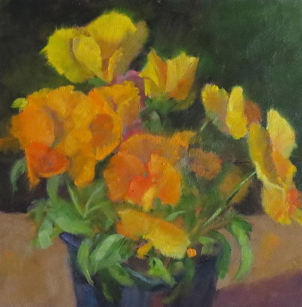"""Just Before Planting"" original fine art by Pam Holnback"