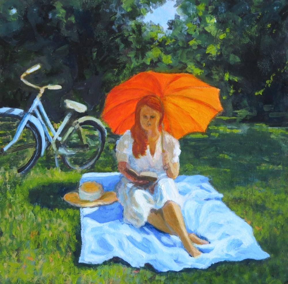"""Sunday Sunshine"" original fine art by Elizabeth Elgin"