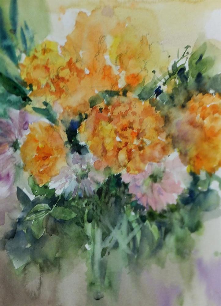 """""""August No.4"""" original fine art by Midori Yoshino"""