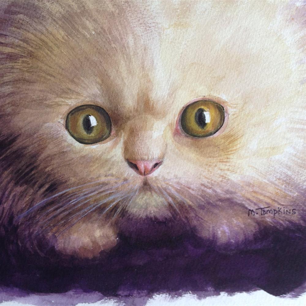 """In My Eyes"" original fine art by Mark Tompkins"