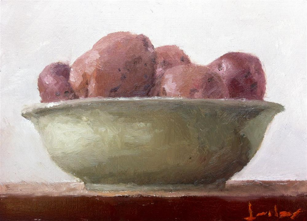 """Potatoes"" original fine art by Richard Jones"