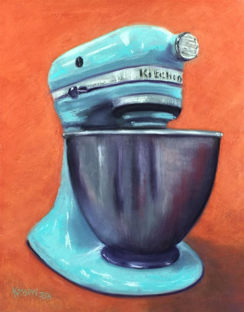 """KitchenAid Ultra Power"" original fine art by Cristine Kossow"