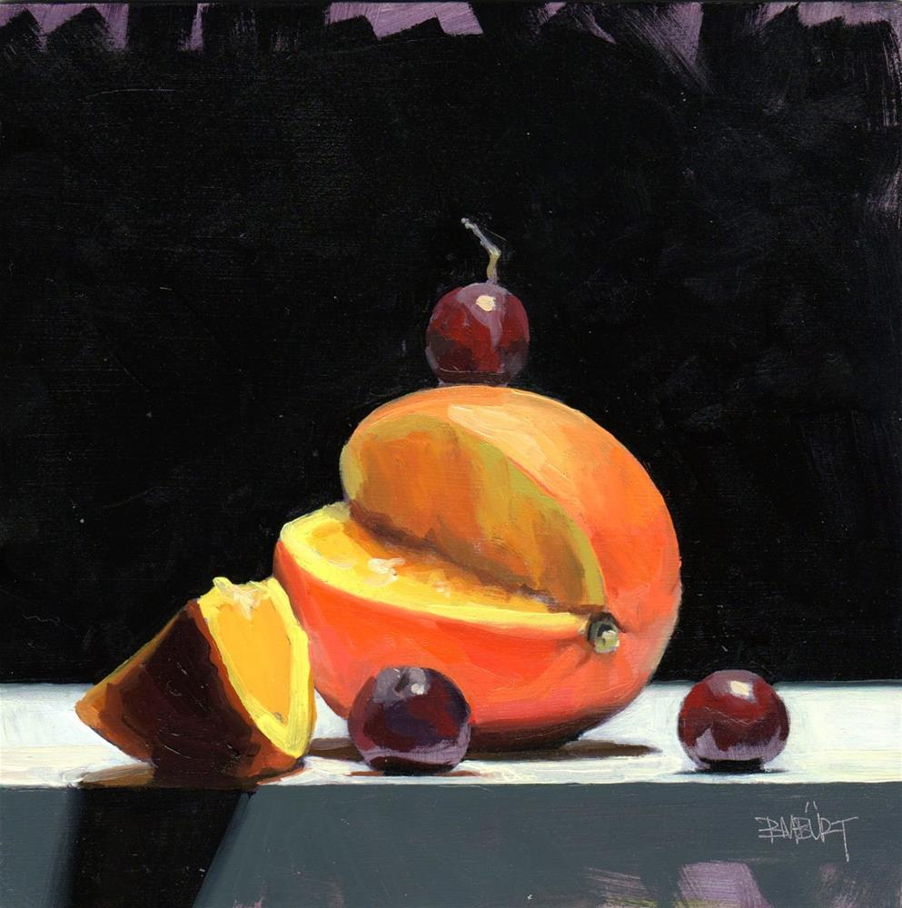 """Tasty Good #11 Dioxazine Oranges"" original fine art by Brian Burt"