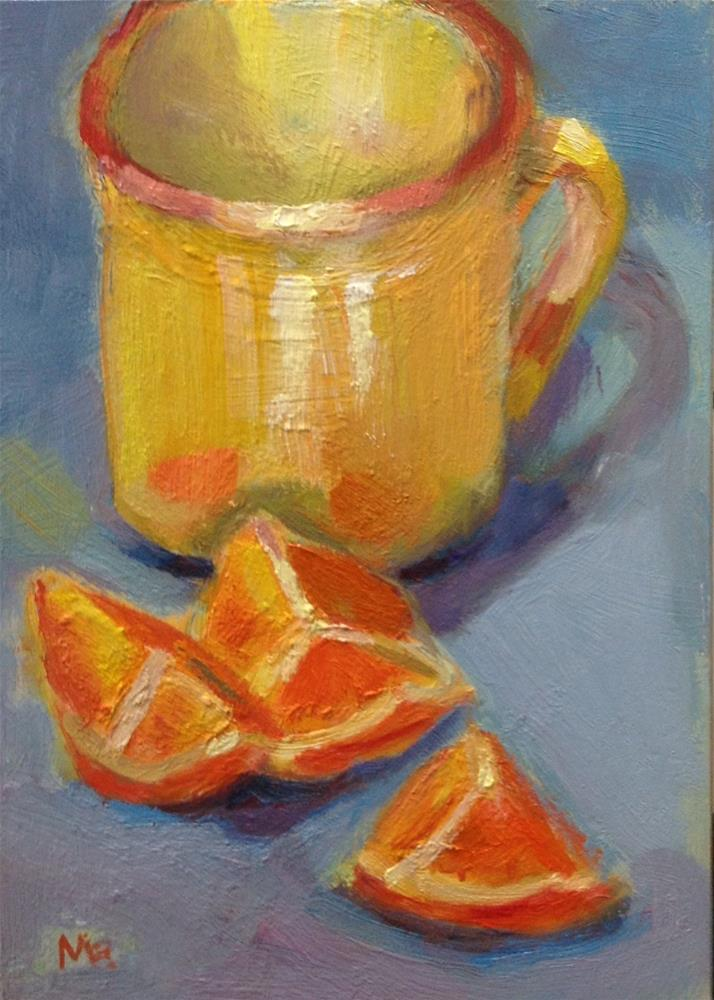 """Sliced"" original fine art by Marcia Bergtholdt"