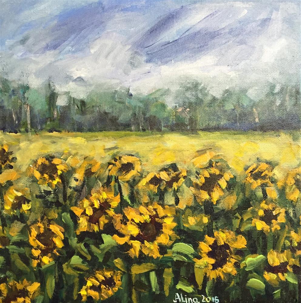 """""""Summer Mood"""" original fine art by Alina Vidulescu"""