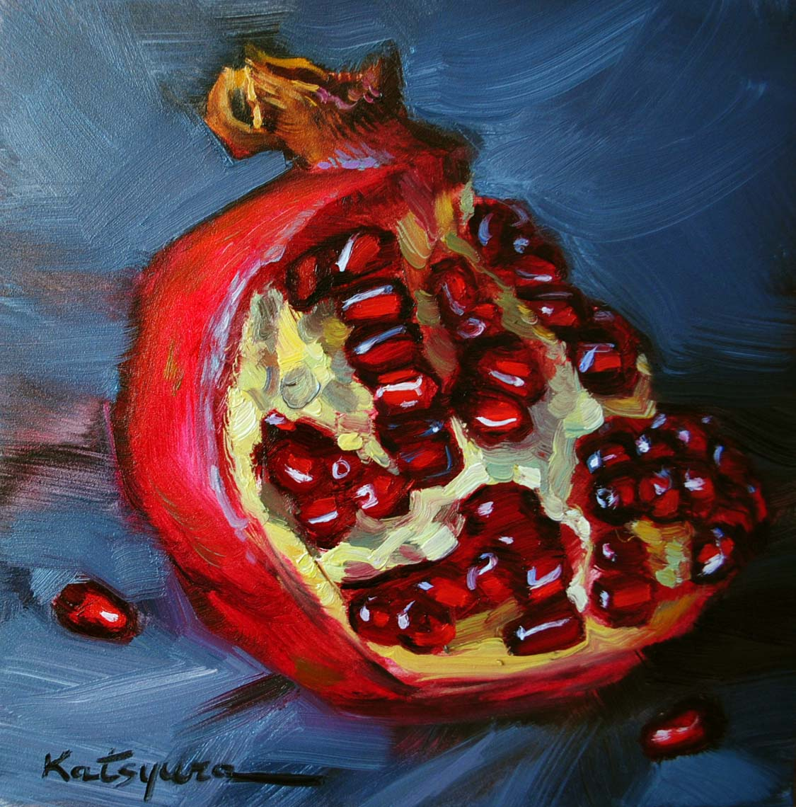 """The House of Vitamins"" original fine art by Elena Katsyura"