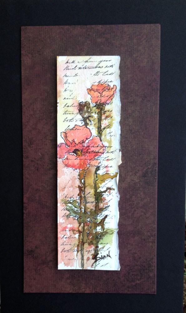 """""""Miniature Floral #2"""" original fine art by Sue Dion"""