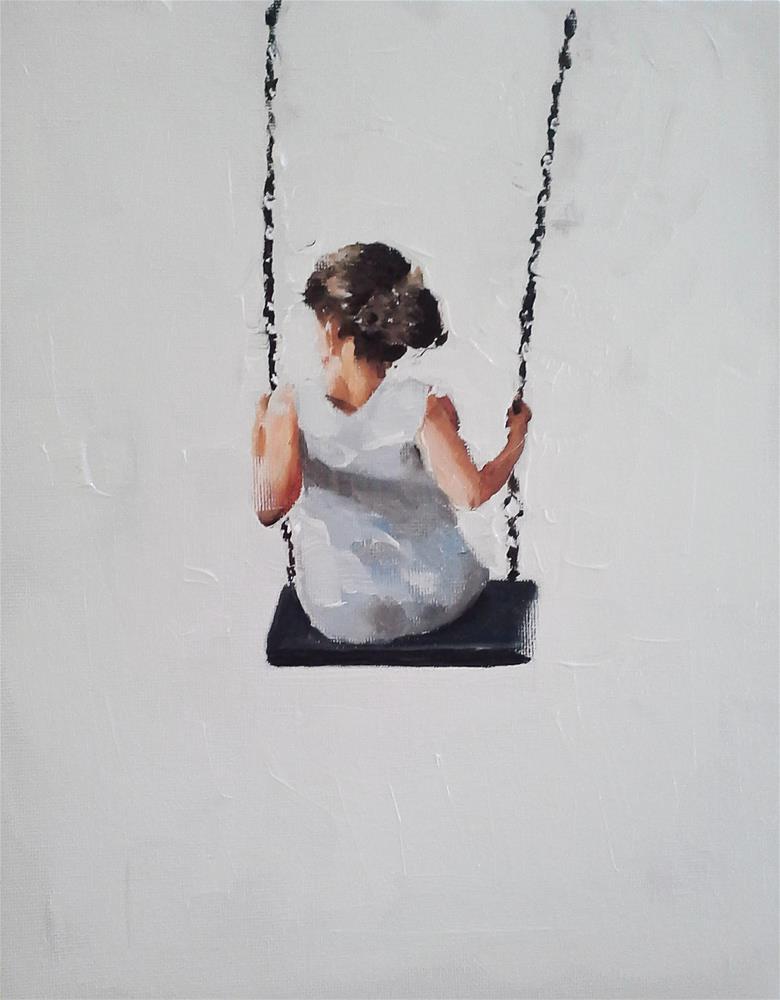"""Swing Girl"" original fine art by James Coates"